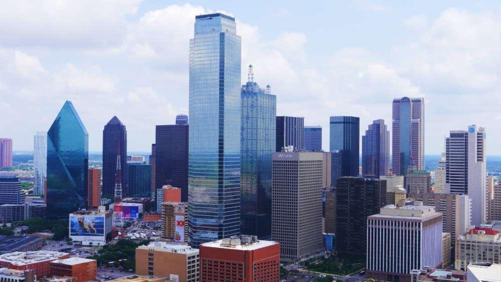 Vistas de Dallas desde la Reunion Tower