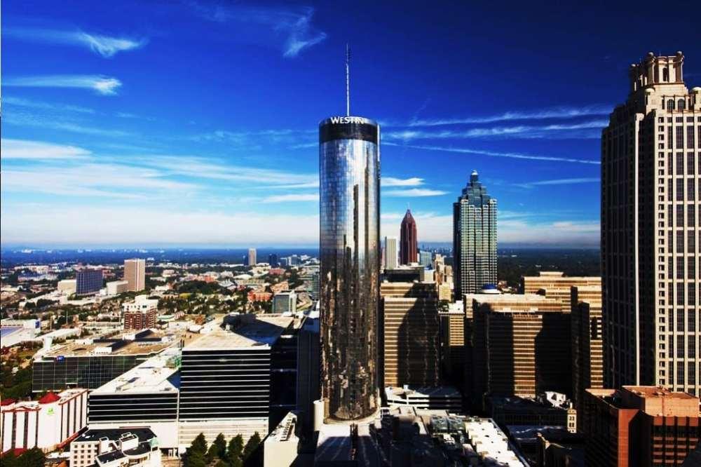 Zona recomendada donde alojarse en Atlanta - Downtown Atlanta
