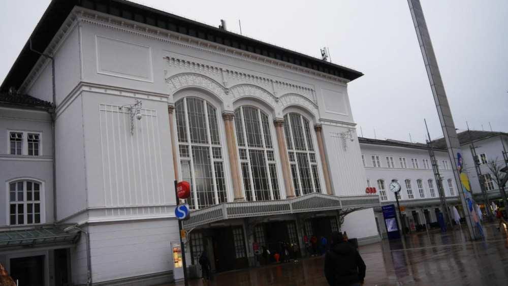 Mejor barrio para dormir en Salzburgo - Cerca de la estación central de trenes