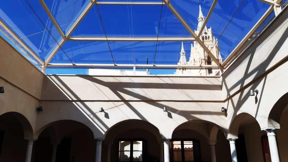 Interior del Museo Carmen Thyssen Málaga, uno de los mejores museos de Málaga