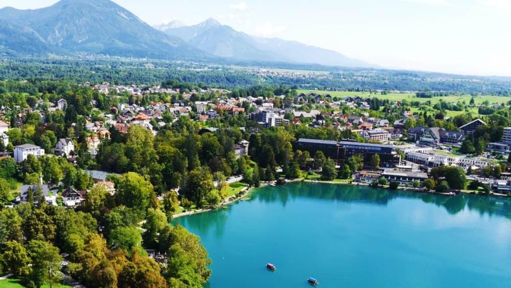 Mejores zonas donde dormir en Bled - Centro del pueblo