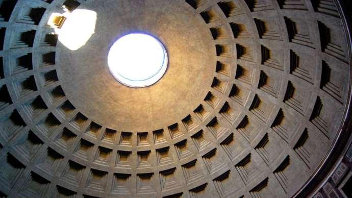 Interior del Panteón de Agripa, Roma