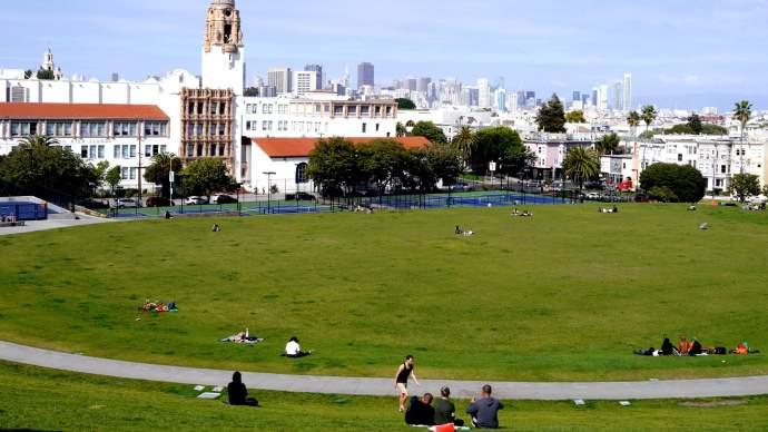 Dolores Park fue uno de los antiguos cementerios de San Francisco