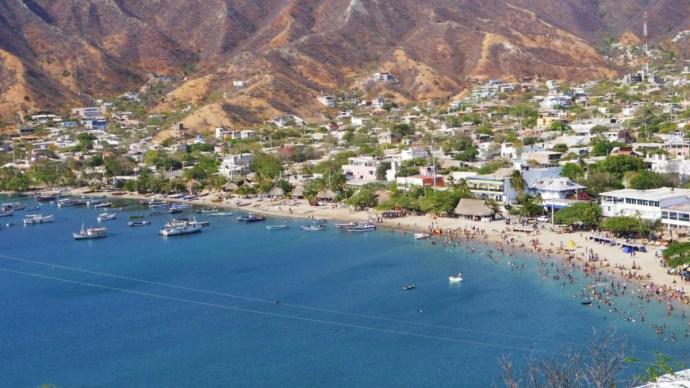 Ruta recomendada por el Caribe colombiano - Santa Marta