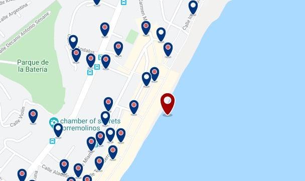 Torremolinos - La Carihuela - Haz clic para ver todos los hoteles en un mapa