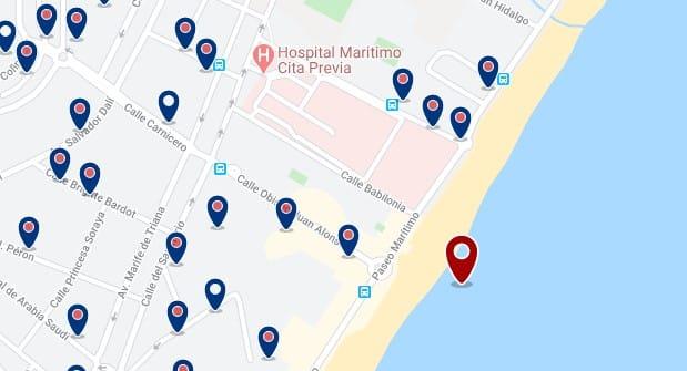 Torremolinos - Playamar - Haz clic para ver todos los hoteles en un mapa