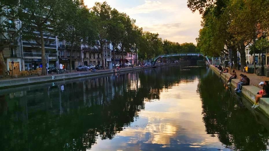 Barrios alternativos de París - Canal de San Martín