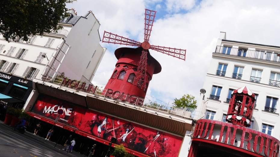 Moulin Rogue, uno de los lugares más emblemáticos de París