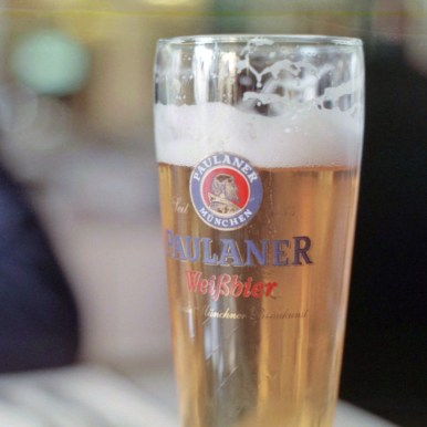 German beer in Bulgaria