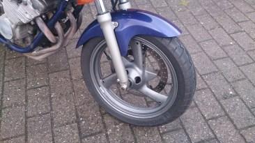 Forhjul, ingen polering endnu