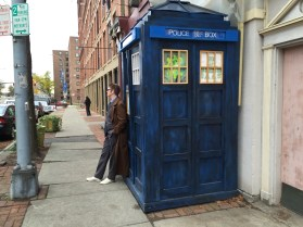 A Doctor and his TARDIS