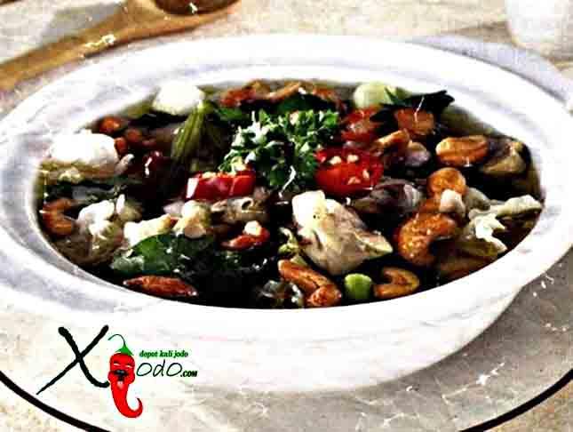 Sup Ayam Jamur Aneka sup indonesia