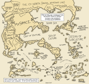 xkcd map