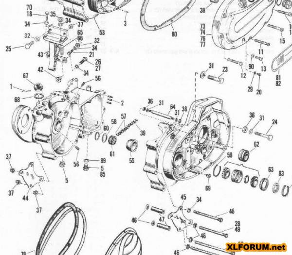 1986 pontiac fiero engine diagram