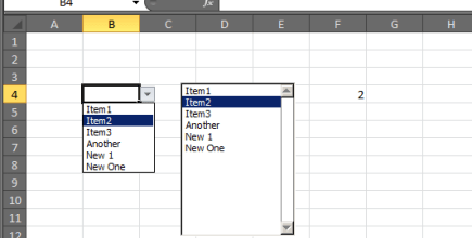 Excel Dynamic Drop-Downs that grow with you