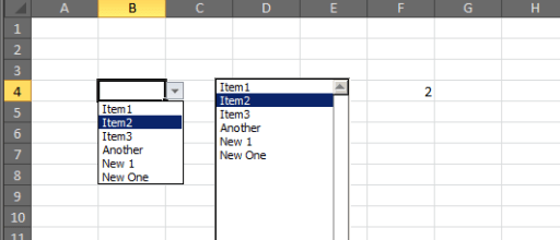 Excel drop-downs that grow with you