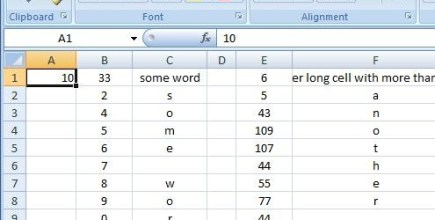 Fx to cut long column into two columns