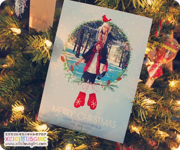 erick and sarah christmas card