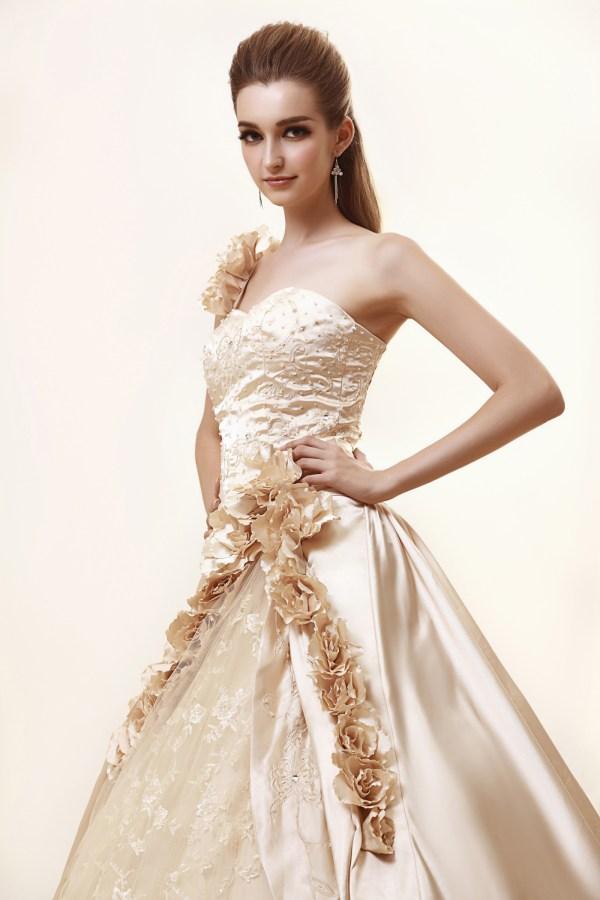 dressv.com color wedding dresses