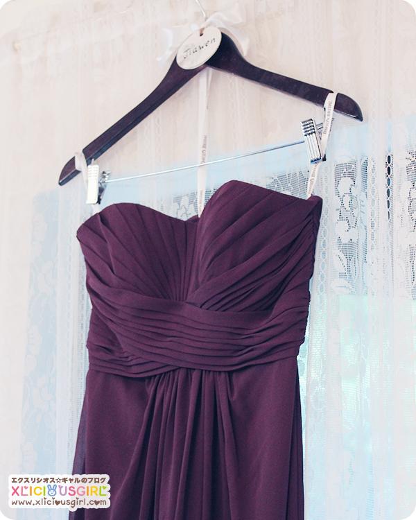 diy wedding dress hanger for bride and bridesmaids