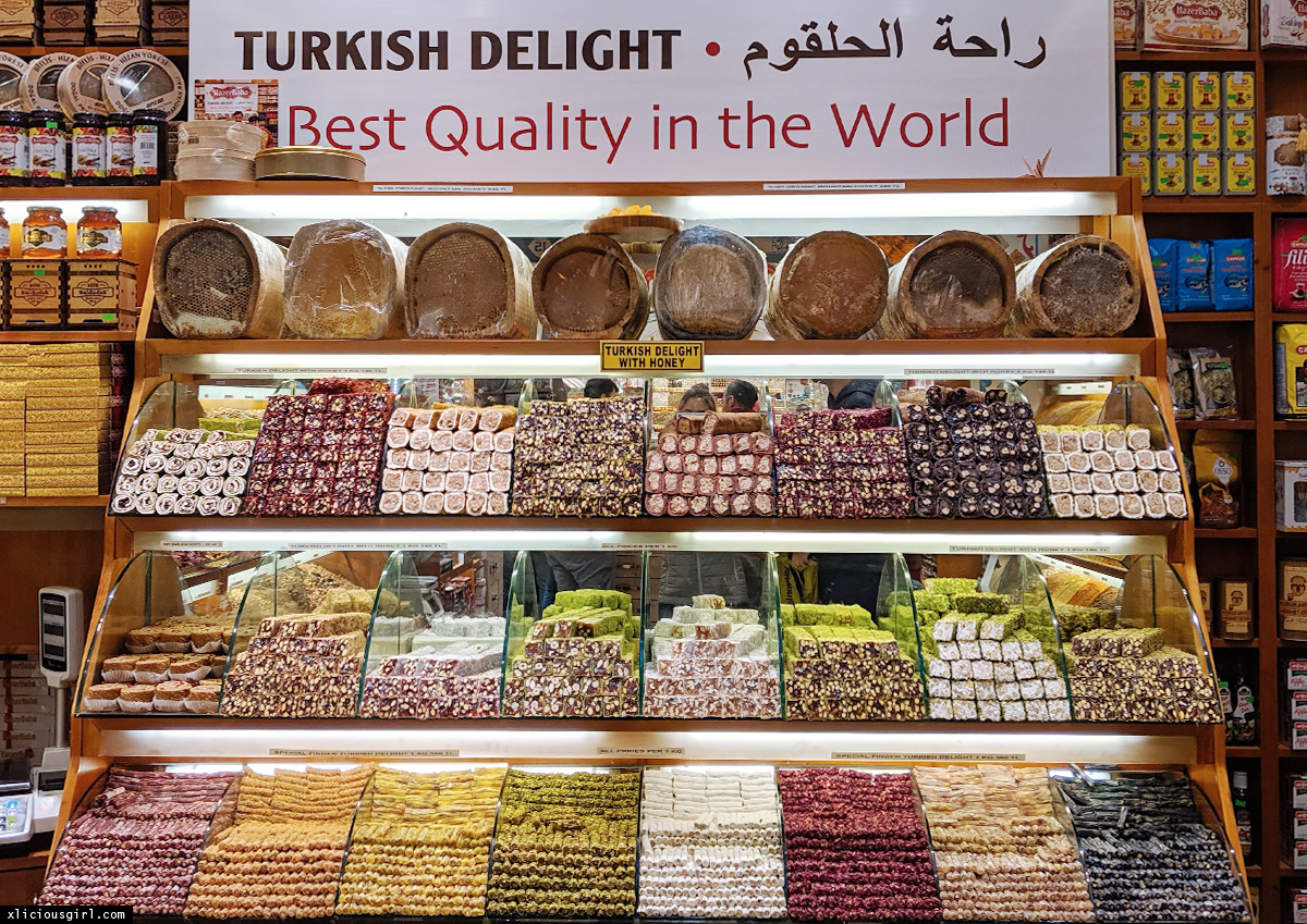 Turkish Delights on display