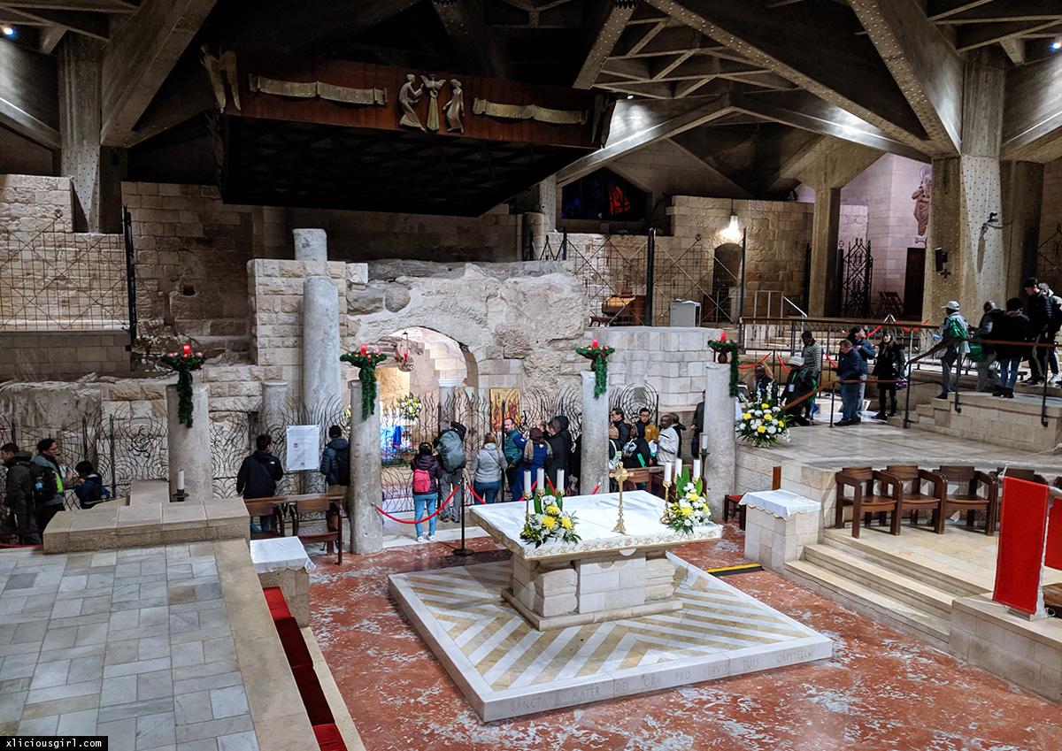 Inside of Mary's church