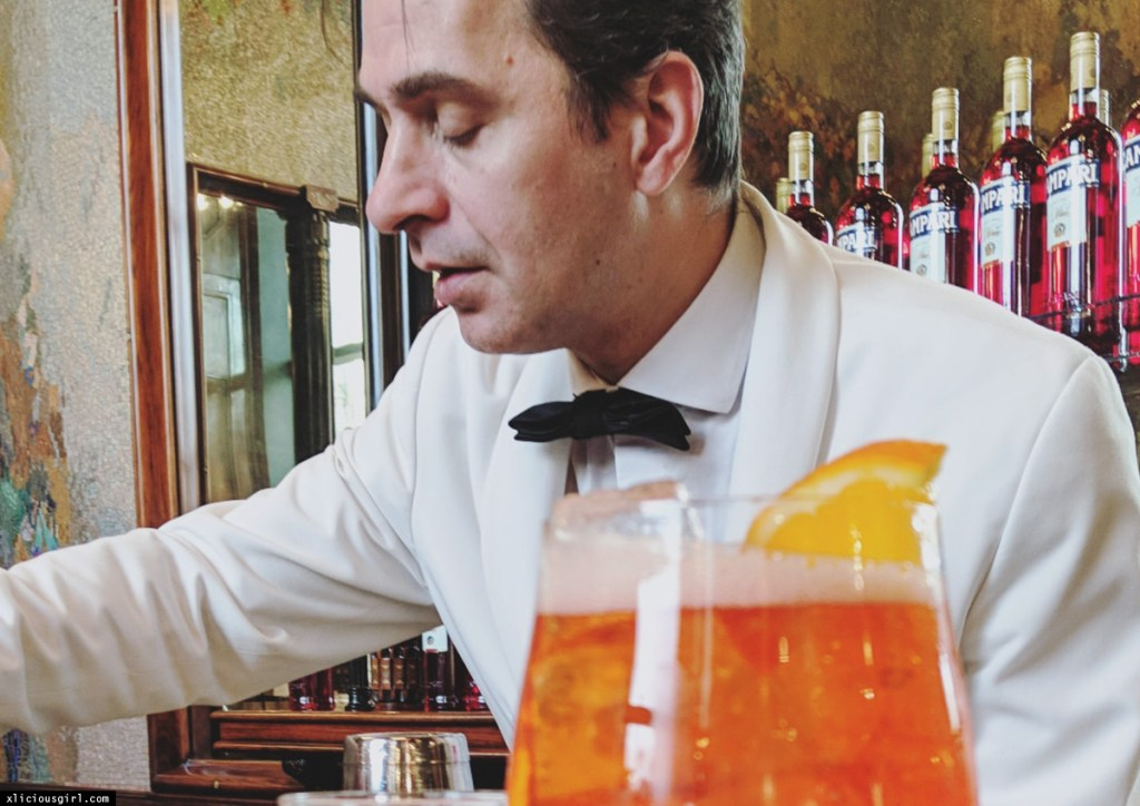 Bartender at Terrazza Aperol