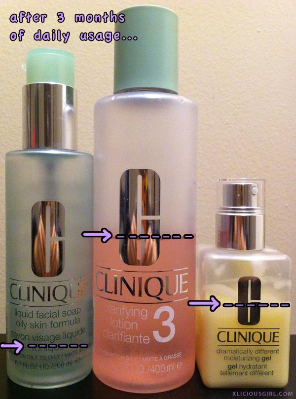clinique 3 step