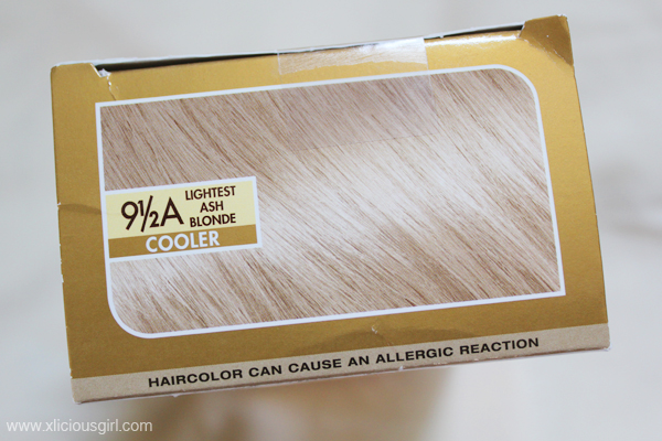 L Or 233 Al Superior Preference Lightest Ash Blonde Hair Dye