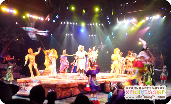 walt disney world animal kingdom lion king show