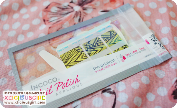incoco real nail polish strip applique review