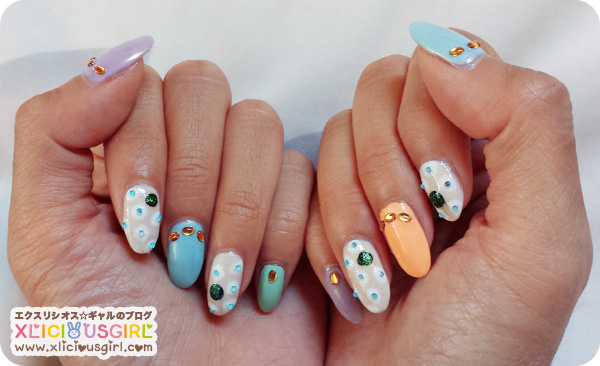 gyaru nail art design