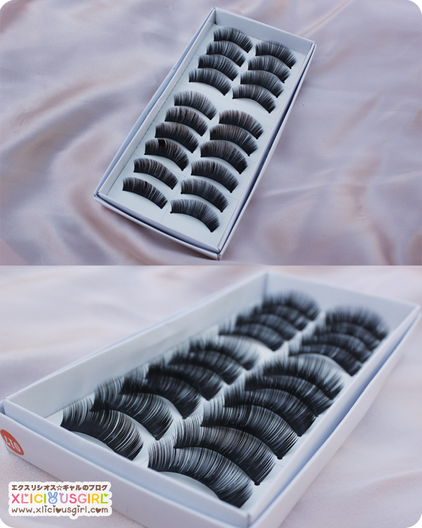 tmart.com false lashes 10 pairs review