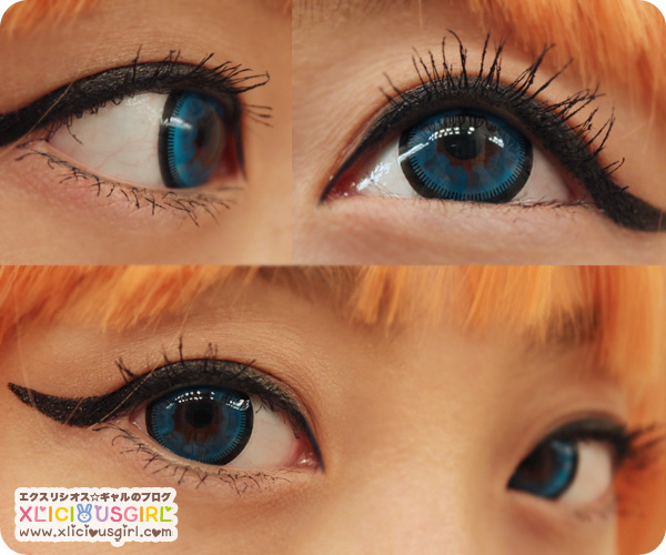 vassen color cloud nine blue circle lens cosplay