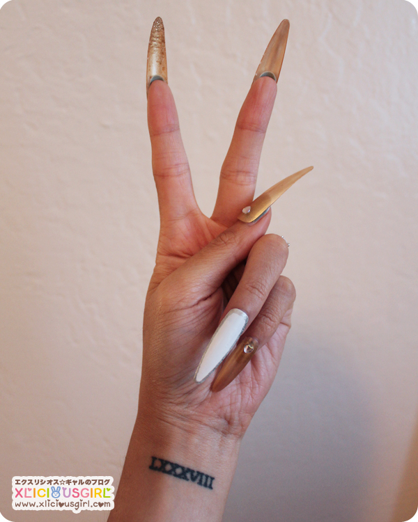 diy gyaru nails