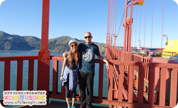 valentines day 2015 biking the golden gate bridge