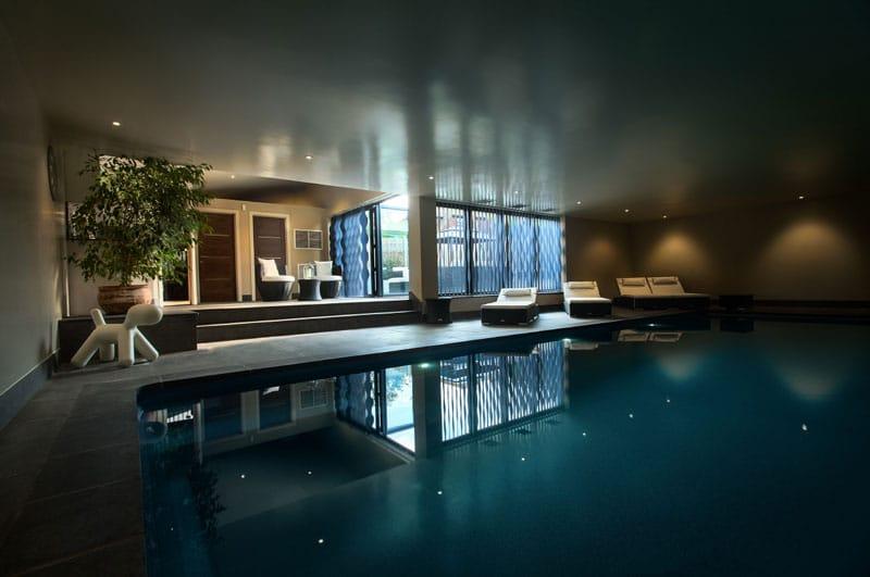 Beautiful Cost Of Indoor Pool Contemporary - Decoration Design ...