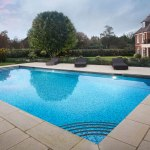 Outdoor Tiled Pool