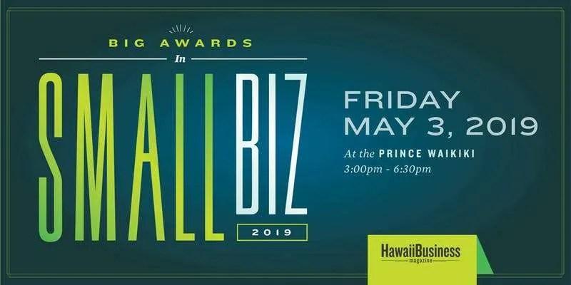 Hawaii Business Magazine SBA Small Business Awards 2019