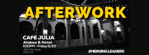 Emerging Leaders Afterwork Cafe Julia_XLR8HI Website Events (STARTUP PARADISE HAWAII)