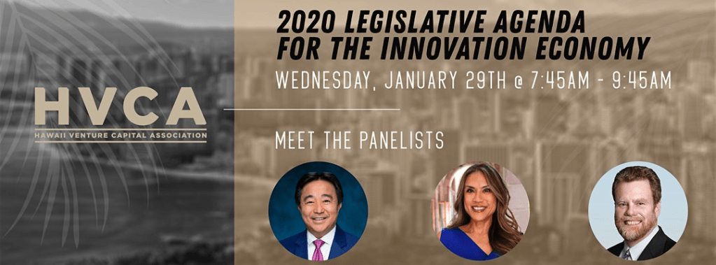 HVCA Breakfast - What to Watch: 2020 Legislative Agenda for the Innovation Economy