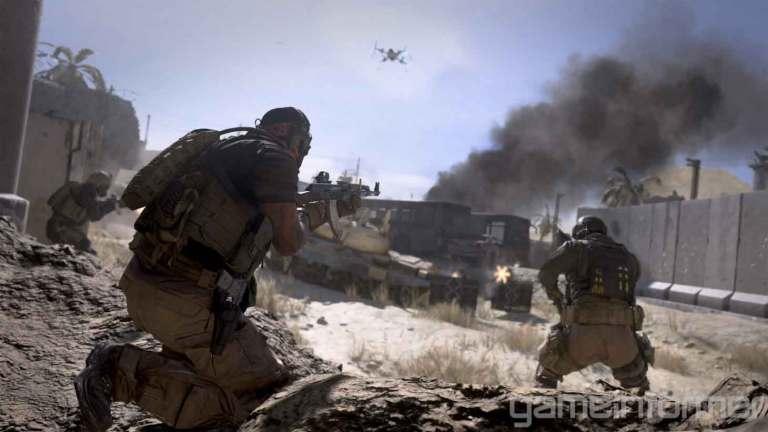 Modern warfare gameplay mechanics