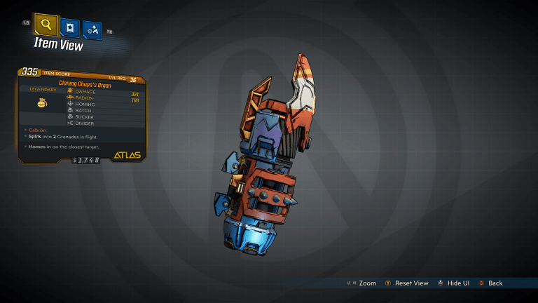 Read more about the article Borderlands 3 – Cloning Chupa's Organ Legendary Grenade Guide