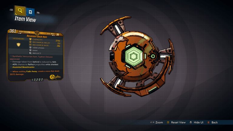 Borderlands 3 Anointed Items