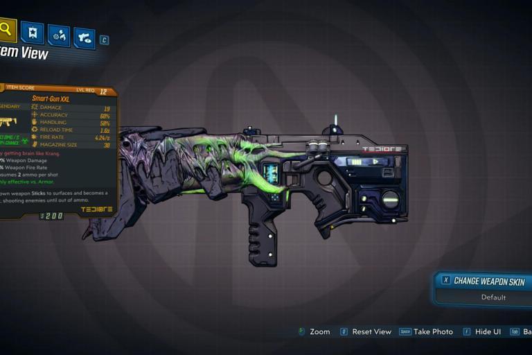Smart Gun XXL Legendary Weapon