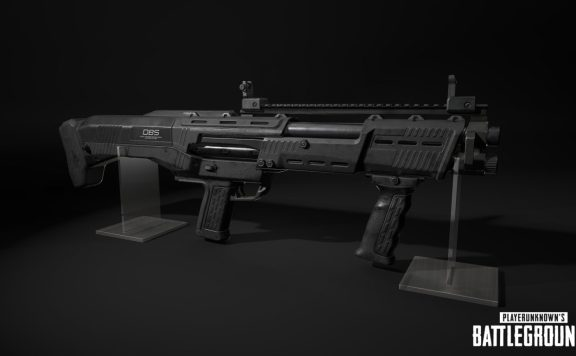 PUBG new weapon DBS shotgun
