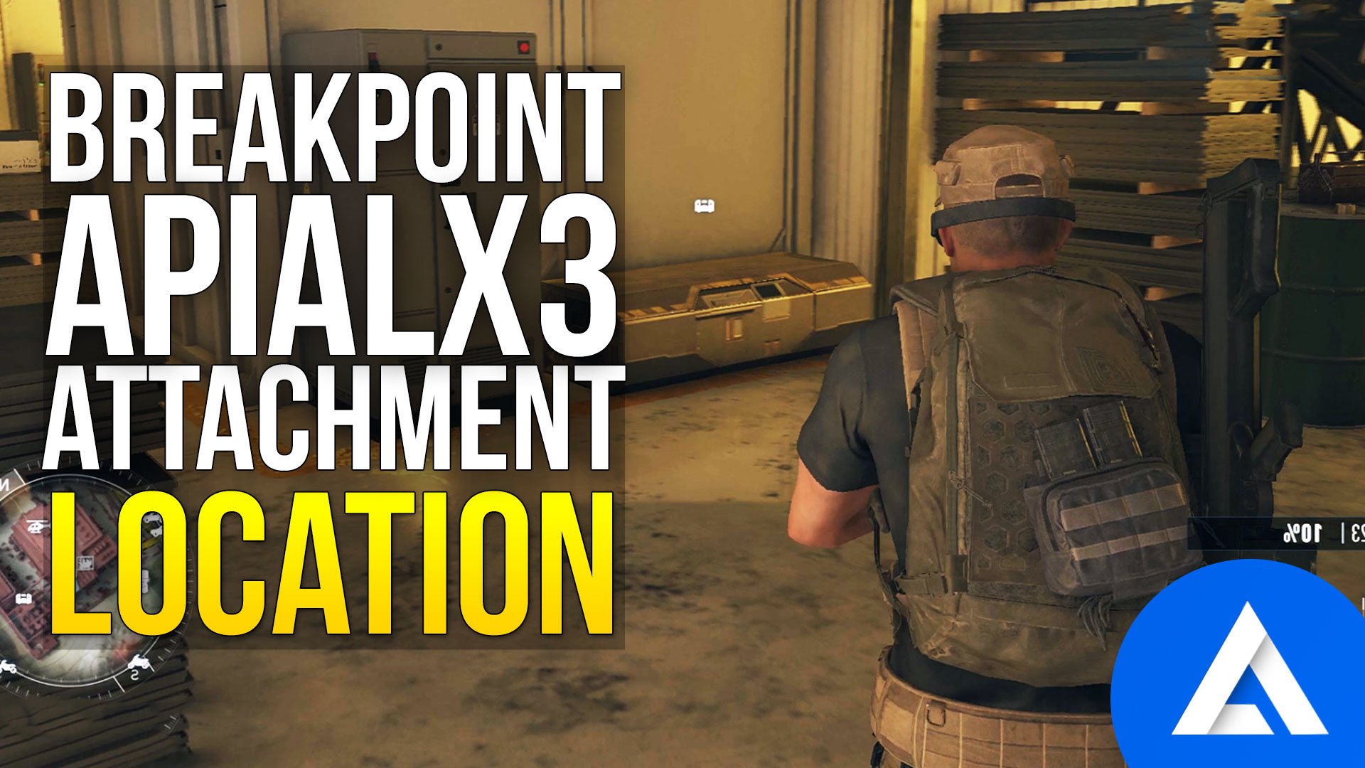 Ghost Recon Breakpoint APIAL x3 Location