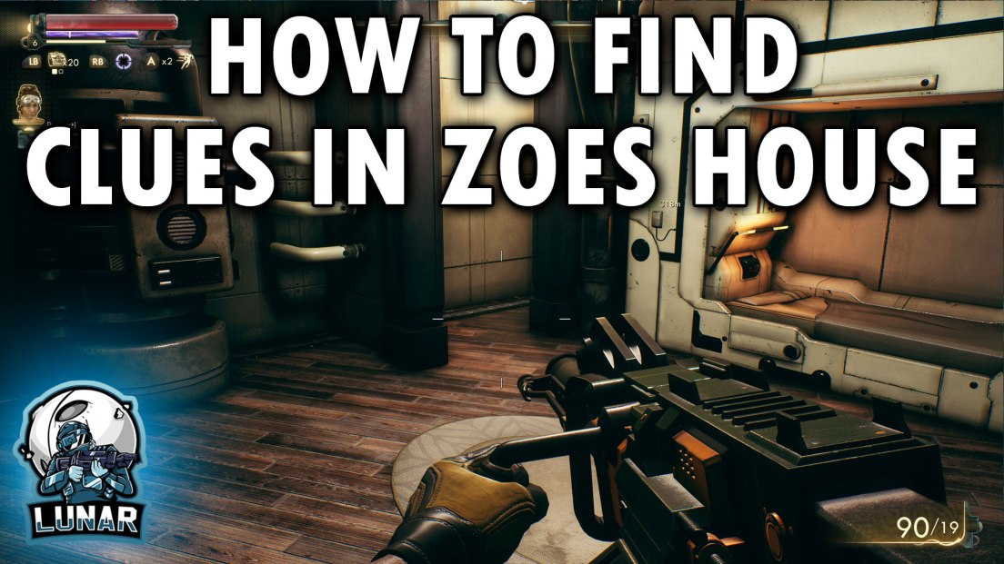 The Outer Worlds Hope Bar Keycard Location HOW TO FIND CLUES IN ZOES HOUSE