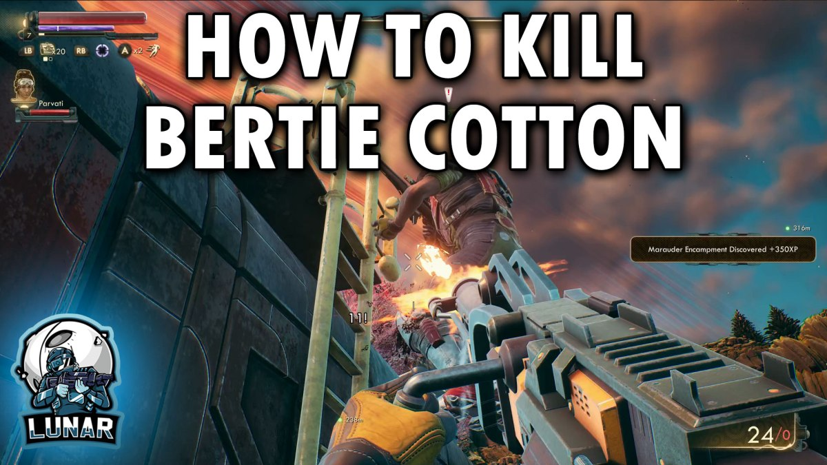The Outer Worlds All 3 Mechanical Engineering Volume Locations HOW TO KILL BERTIE COTTON