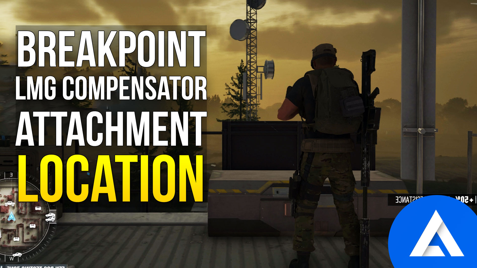 Ghost Recon Breakpoint LMG Compensator Location